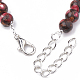 Assembled Synthetic Imperial Jasper and Bronzite Beaded BraceletsBJEW-S135-012A-3