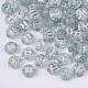Plating Transparent Acrylic BeadsTACR-T008-01B-1