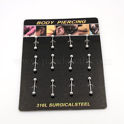 316L Stainless Steel Body Jewelry AJEW-P002-02-1