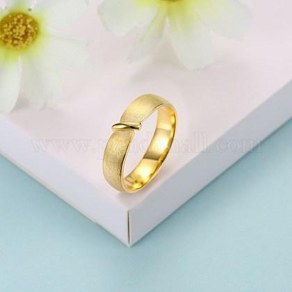 Anillos de dedo de moda de plata esterlinaRJEW-BB29188-C-9-1