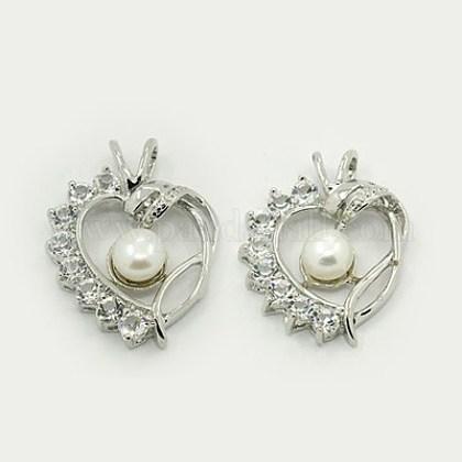 Colgantes naturales de perlas cultivadas de agua dulcePEAR-J001-02-1