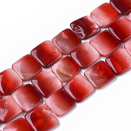 Pintura en aerosol encantos de conchas de agua dulceSHEL-T013-005B-1