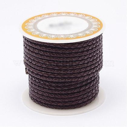 Braided Leather CordNWIR-N005-01B-3mm-1