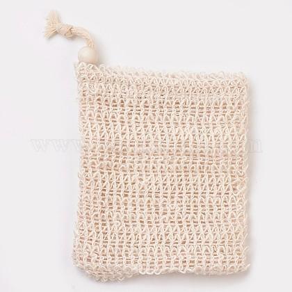 Fashion Linen Soap BagMRMJ-WH0019-02A-1