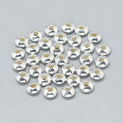 Séparateurs perles en 925 argent sterlingX-STER-T002-207S-1