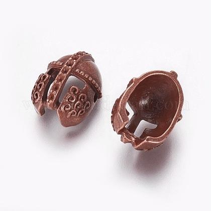 Supports en alliage de perle de strass de style tibétainPALLOY-F224-13R-1
