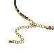 Brass NecklacesNJEW-I104-14G-4