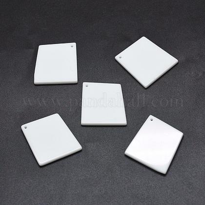 Porcelain PendantsG-O175-34-1