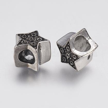 304 Stainless Steel European BeadsSTAS-J022-069AS-1