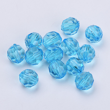 Transparent Acrylic Beads TACR-Q257-22mm-V40-1