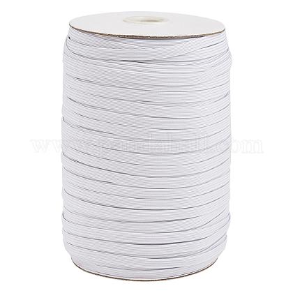 Cuerda elástica trenzada plana de 1/4 pulgadaX-EC-R030-6mm-01-1