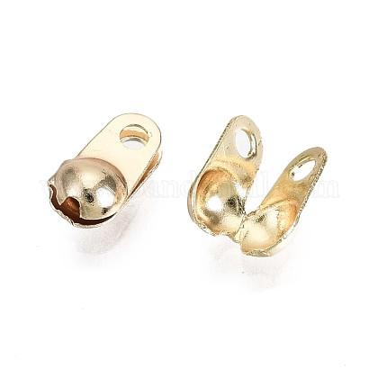 Bouts de perle en laitonX-KK-T056-44G-NF-1